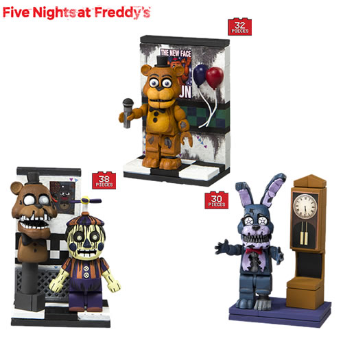 McFarlane Building Sets - Five Nights At Freddys - Micro Set Assortment #03